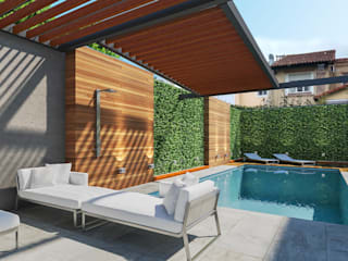 Pool by laura zilinski arquitecta, Modern