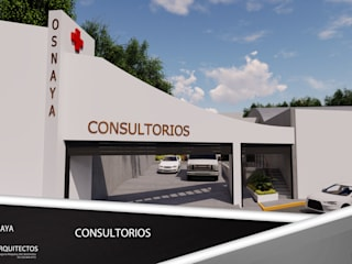 clinica Casas minimalistas de DISARQ ARQUITECTOS. Minimalista