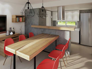 Built-in kitchens by laura zilinski arquitecta,