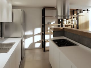 Kitchen units by laura zilinski arquitecta,