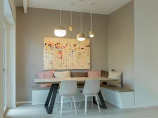Modern dining room by Archifacturing Modern