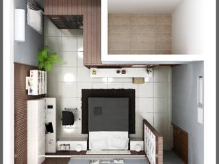 Minimalist bedroom by SUKAM STUDIO Minimalist