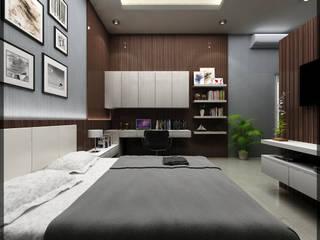 Habitaciones de estilo minimalista de SUKAM STUDIO Minimalista
