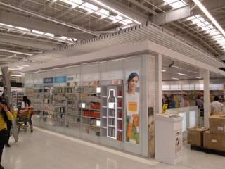 OTC ÉXITO WOW DEL COUNTRY -BOGOTÁ D.C [VITRINA & ESTRUCTURA METÁLICA] Arquitectura & Tecnología Centros comerciales