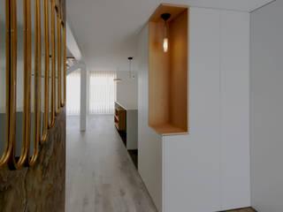 Casa das Fontes | Reformulação: Casas de banho  por OBRA ATELIER - Arquitetura & Interiores