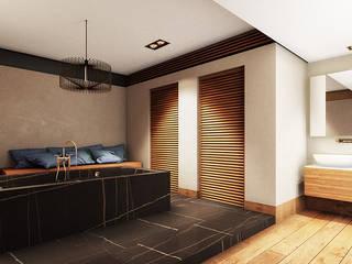Interiorismo: Baños de estilo  por Maquita Arquitectos