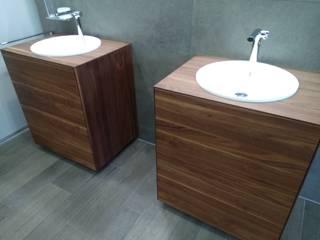 Ванные комнаты в . Автор – DAS BADEZIMMER-RHEIN-MAIN, Азиатский