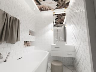 Modern bathroom by d.b.mroz@onet.pl Modern