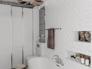 Phòng tắm phong cách hiện đại bởi d.b.mroz@onet.pl Hiện đại