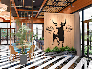 Kebapcy Restaurant:   by DMR DESIGN AND BUILD SDN. BHD.