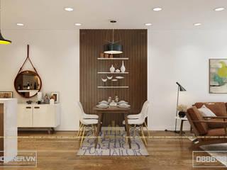 Thiết kế nội thất chung cư GoldMark - nhà Anh Đại bởi Thiết kế - Nội thất - Dominer