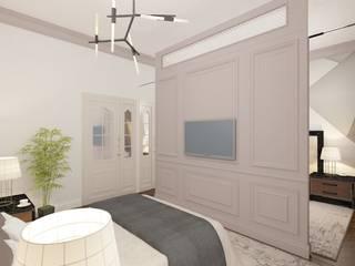 Дизайн интерьера спальни Спальня в классическом стиле от SOS-REMONT Классический