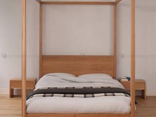 Decordesign Interiores BedroomBeds & headboards Chipboard Wood effect