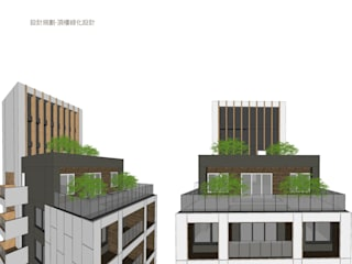 in stile  di 雲展建築設計 Winstarts Architectural Design Group