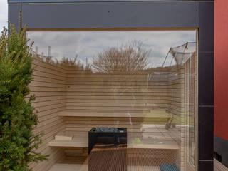 Sauna by design@garten - Alfred Hart -  Design Gartenhaus und Balkonschraenke aus Augsburg, Minimalist