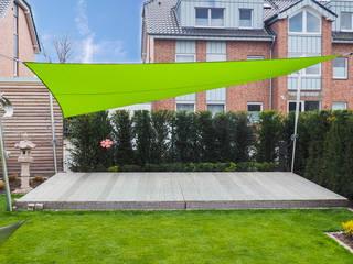 Pina GmbH - Sonnensegel Design Giardino moderno Verde