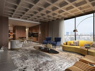 Living room by Johnny Thomsen Arquitetura e Design