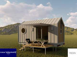 Pdesgn Mimarlık Hizmetleri / Casa Lokomotif Mobil Ev Sistemleri – Casa Lokomotif:  tarz Küçük Evler