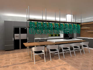 Alfa Kitchen:  de estilo  por Doku Design