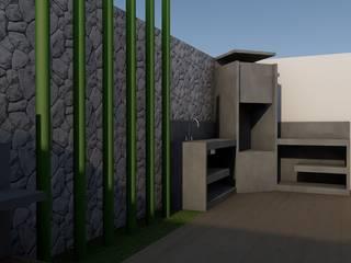 Remodelacion patio de casa '77 Balcones y terrazas minimalistas de Artiphise Minimalista