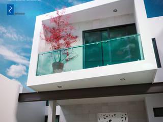 Vivienda Unifamiliar Casas modernas de distrucción Moderno