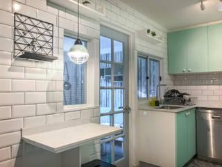 Small kitchens by Estudio Arquitectura y construccion PR/ Arquitectura, Construccion y Diseño de interiores / Santiago, Rancagua y Viña del mar, Classic