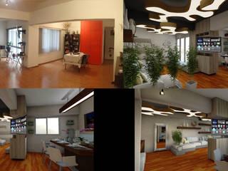 Remodelación de un departamento de Design WRX Moderno