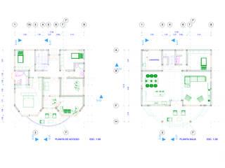 Proyecto Arquitectónico, Casa Los Magueyes de Design WRX Ecléctico