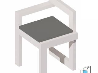 Aula de Capacitación | Diseño y producción de mobiliario de Espacio Habitable Mx Moderno