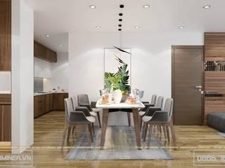 Thiết kế nội thất chung cư GoldMark - nhà Anh Minh bởi Thiết kế - Nội thất - Dominer