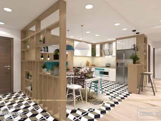 Thiết kế nội thất chung cư GoldMark - nhà anh Thịnh bởi Thiết kế - Nội thất - Dominer