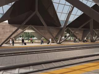 TÜLİN ÇETİN MİMARİ TASARIM LTD. ŞTİ. – Diyarbakır Tren İstasyonu:  tarz