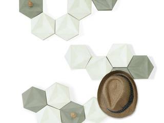Perchero modular decorativo Paradigma de Contorno.xyz Escandinavo
