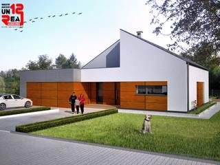 Dom jednorodzinny od Warsztat Architektury UNREAL12 Rafał Lipiński Nowoczesny