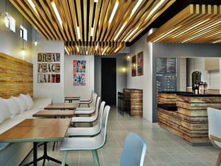 AOG Comedores de estilo moderno Derivados de madera Acabado en madera