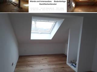 Dachausbau inklusive Dachflächenfenster | Innenausbau COMWOOD | Individuelle Lösungen aus Holz Kinderzimmer Junge Massivholz Weiß
