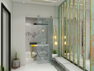 Foyer / entry:   by Sky'Architects