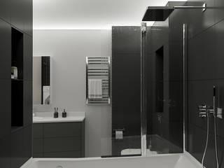 Bathroom by СТУДИЯ ДИЗАЙНА ЭЛИТНЫХ ИНТЕРЬЕРОВ АЛЕКСАНДРА ЕЛАШИНА.