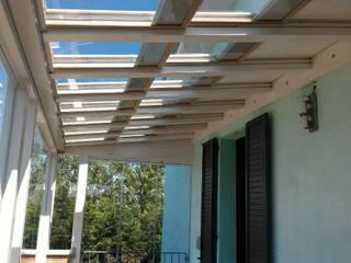 Modern style conservatory by SAMEC COSTI Modern