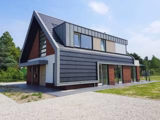 Villa Brakersweg: modern  door Van Wilsem & Cabri - Architectuur en Management, Modern