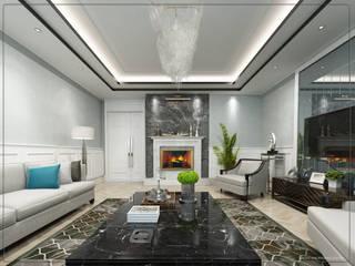 salon Modern Oturma Odası avangard mimarlık Modern