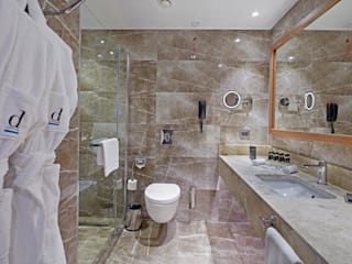 Kayseri Divan City Oteli İç Mimari Proje ve Danışmanlık Modern Banyo avangard mimarlık Modern