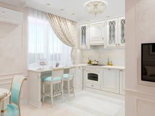 Дизайн-проект квартиры студии по пр. Победителей Кухня в классическом стиле от BOHO DESIGN Классический