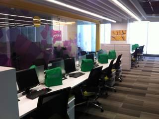Oficinas corporativas Merck (para T4 construcciones). de Sinnarq, S.A. de C.V. Moderno