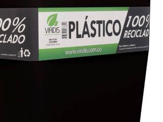 Matera 40cm Color negro Inyección:  de estilo  por Viridis Productos Eco Amigables