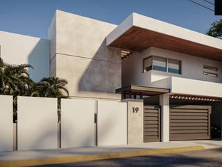 CASA C+A de Estévez Arquitectos Moderno