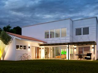Casa GE Tlaxcala de Estévez Arquitectos Moderno