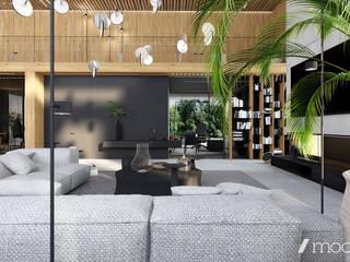 Modern Living Room by modeko.studio Modern