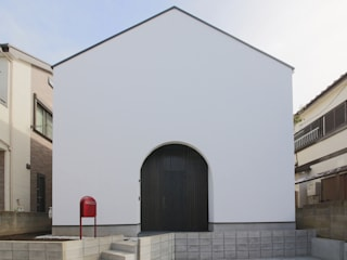 ピアノ室のある狭小住宅 OUCHI-29 の 石川淳建築設計事務所 ミニマル