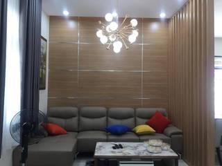 Phòng khách:  Phòng khách by Công ty TNHH Thiết Kế Xây Dựng Song Phát